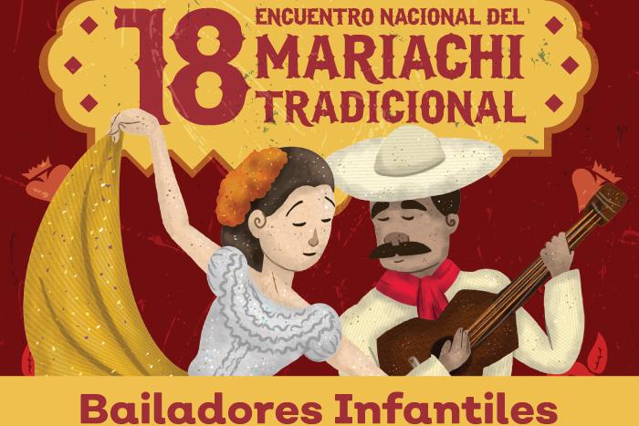 Encuentro jalisciense de bailadores infantiles de sones y jarabes tradicionales