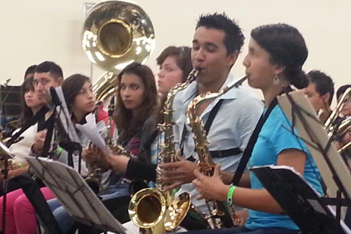 Pequeños grandes músicos conforman la Orquesta Juvenil de Jazz