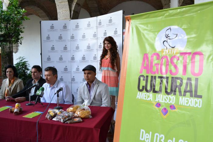 Convoca Ameca al Festival Agosto Cultural