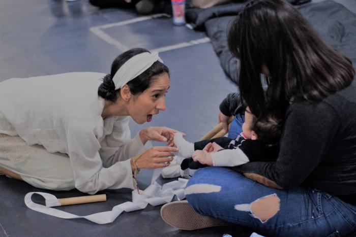 Temporada de teatro: Piecitos, teatro para bebés