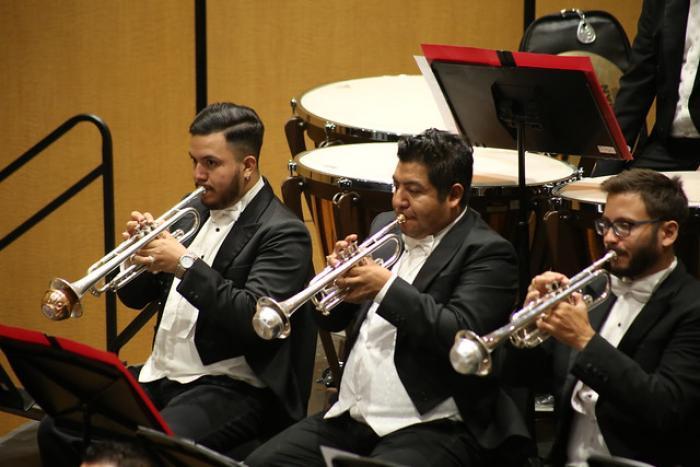 Comparte escenario con la OFJ el joven trompetista Moisés Aguirre Cerros