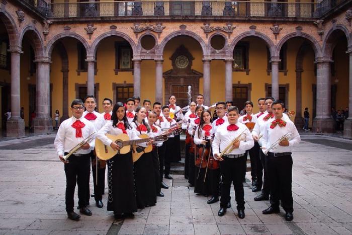 Jalisco en  Colombia, alumnos del programa ECOS, Música para la Paz se unen a Fundación Batuta