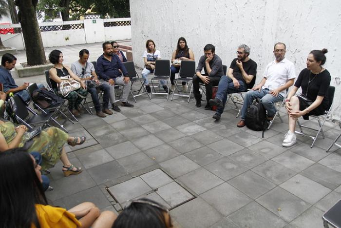 """Presentan libro """"Botellas al Océano"""" en la Muestra Estatal de Teatro"""