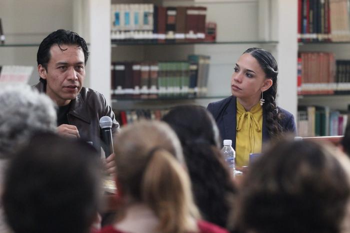 Bibliotecarios de Jalisco comparten con Marx Arriaga Director General de Bibliotecas de la Secretaría de Cultura Federal