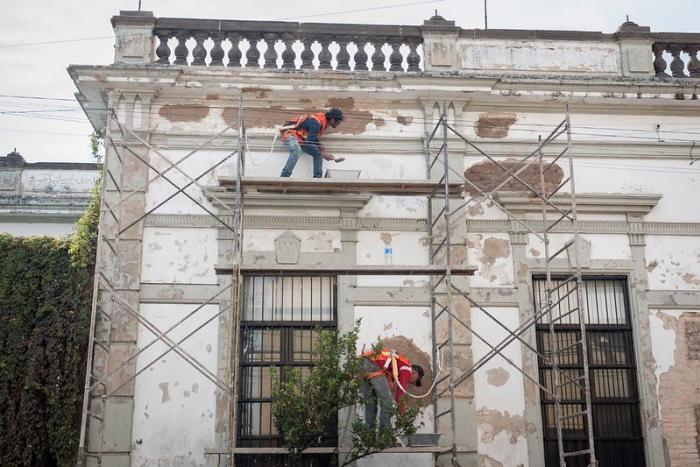 Restauran edificio sede de la ECRO