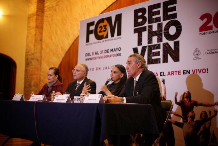 El Festival Cultural de Mayo dedicará su programa a Beethoven  en el 250 aniversario de su nacimiento