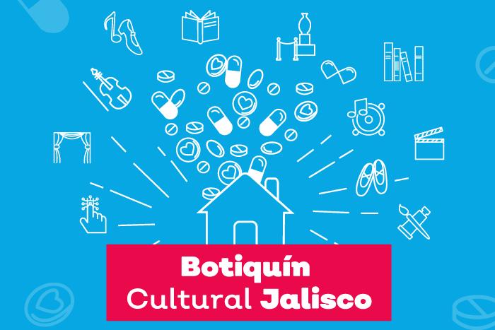 En caso de contingencia utiliza el Botiquín Cultural Jalisco