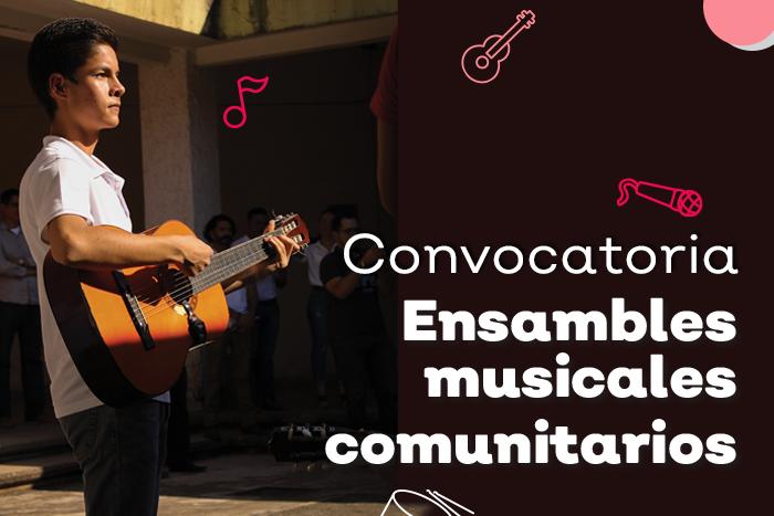 Ensambles y orquestas comunitarias ECOS