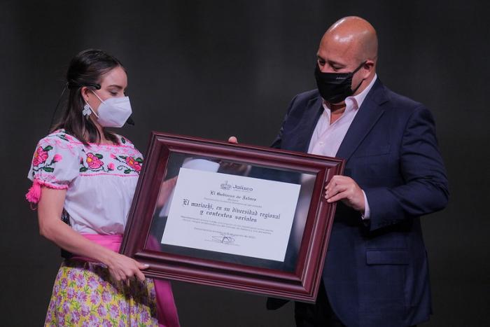 Entrega Gobernador la declaratoria del Mariachi como Patrimonio Inmaterial de Jalisco
