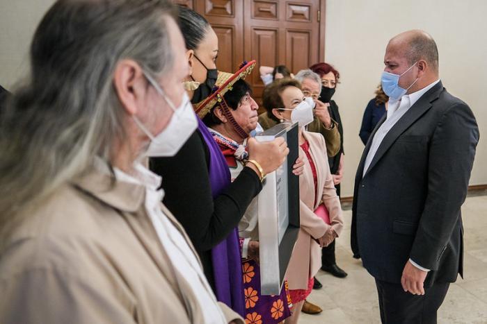 Reconoce Gobierno de Jalisco al artista Luis Manuel Mercado, El de la Paloma
