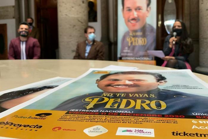 Invitan a ver en plataformas virtuales el estreno nacional de la obra    No te vayas, Pedro