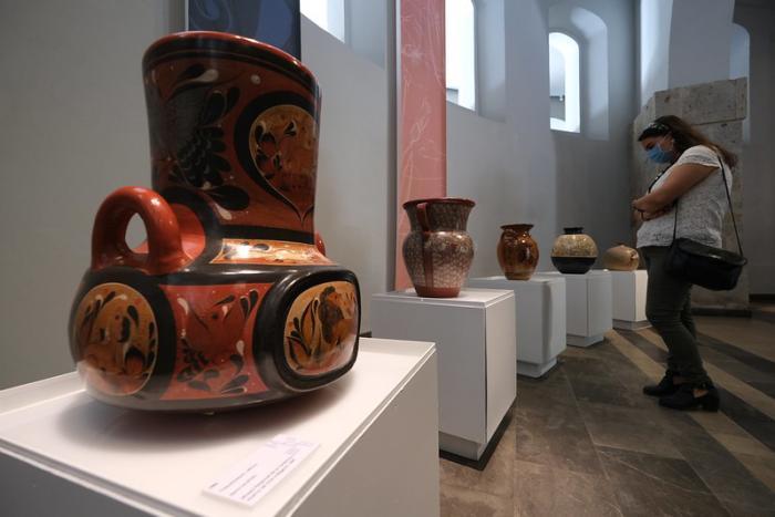 """Abren con """"Mar de barro"""", la Sala Giroleta del Museo de Sitio del Palacio de Gobierno"""