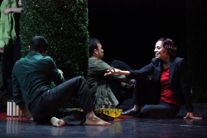 Comenzó la fiesta de Danza Contemporánea en el Teatro Degollado
