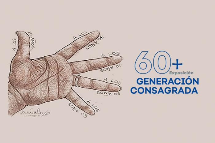 Exposición Colectiva 60 + en el Ex Convento del Carmen