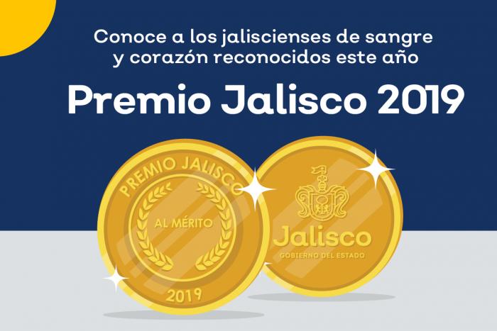SC anuncia ganadores del Premio Jalisco 2019