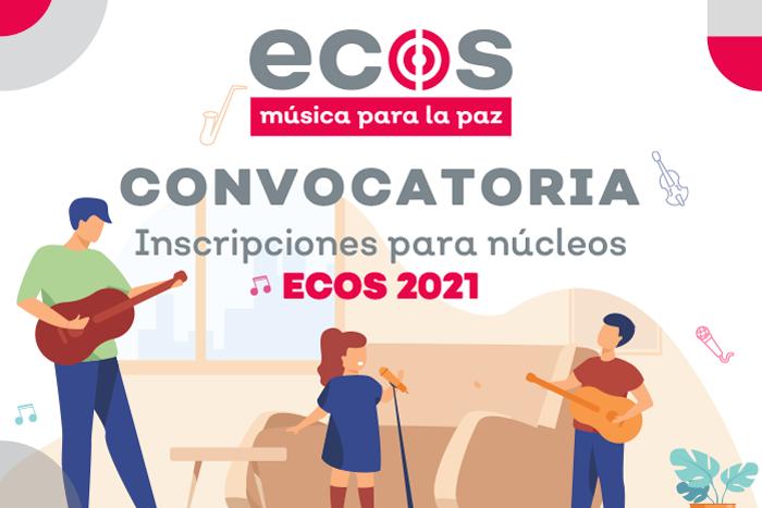 """Inscripción para integrar el alumnado de nuevo ingreso """"ECOS, Música para la Paz"""""""