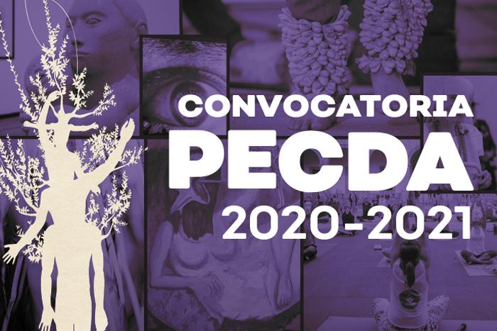 Convocatoria PECDA 2020-2021