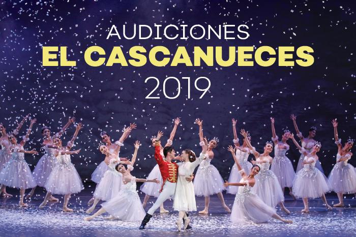 Audiciones la puesta en escena  EL CASCANUECES 2019