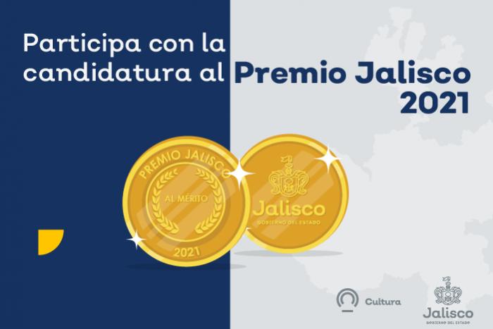 Convocatoria Premio Jalisco 2021