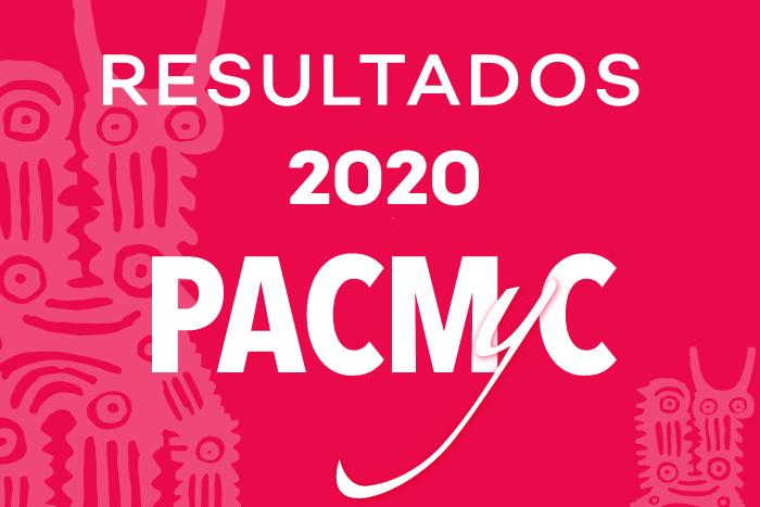 Resultados Emisión PACMyC 2020