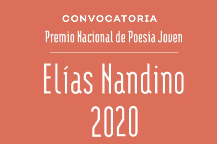 Premio Nacional de Poesía Joven Elías Nandino 2020