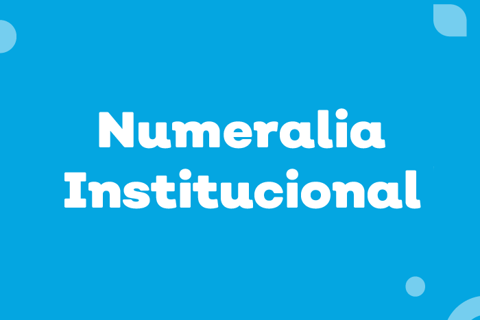 Numeralia Institucional