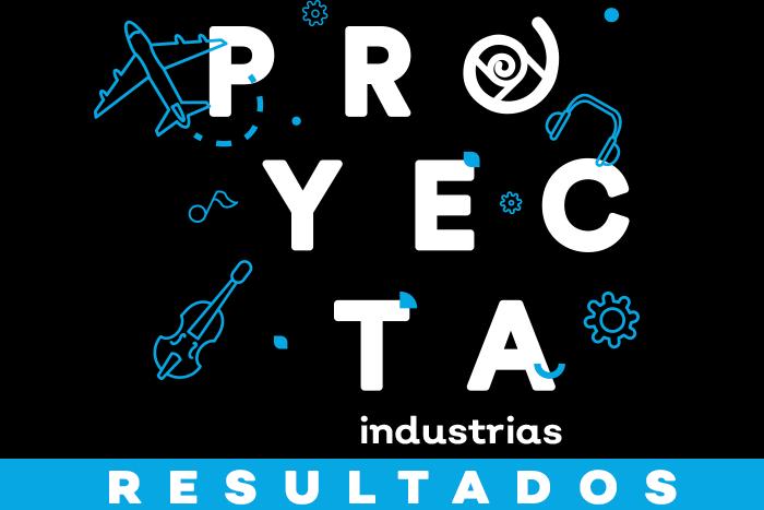 Resultados Proyecta Industrias Creativas