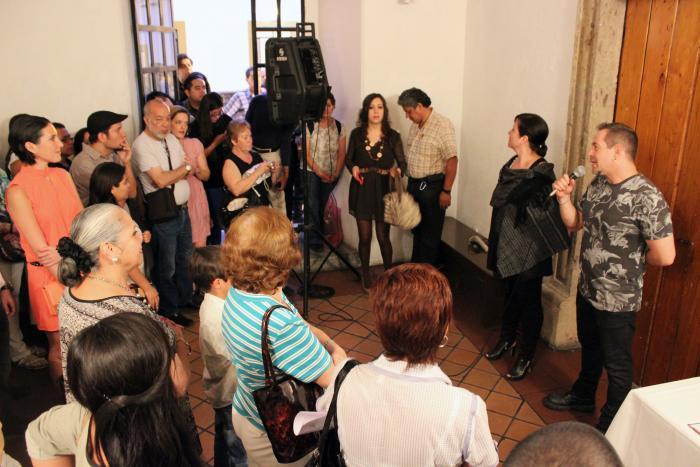 Presentan Epifanías Acrílicas y Jardines Secretos en el Ex Convento del Carmen