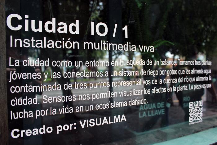 Ciudad IO. Instalación Viva Multimedia