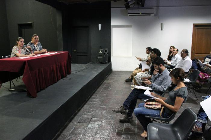Realizan sesión informativa sobe el fondo Proyecta 2014