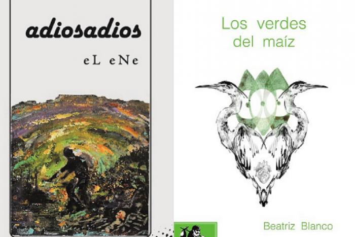 """Presentación de los poemarios """"Los verdes del maíz"""" de Beatriz Blanco y """"Adiosadios"""" de Jorge Daniel """"eL eNe"""""""