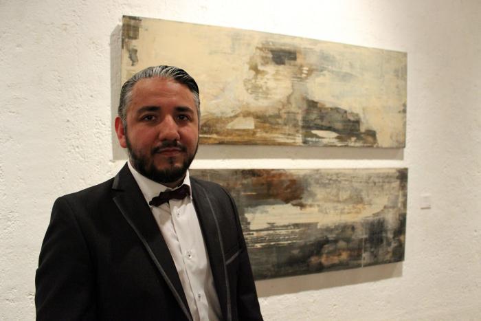 Presenta Alessandro Mejía sus contemplaciones abstractas en el  Ex Convento del Carmen