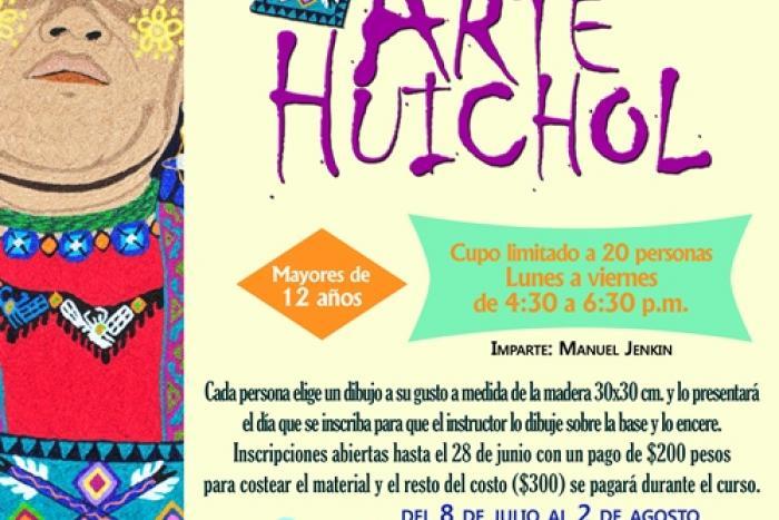 Imparten Arte Huichol en Jalostotitlán