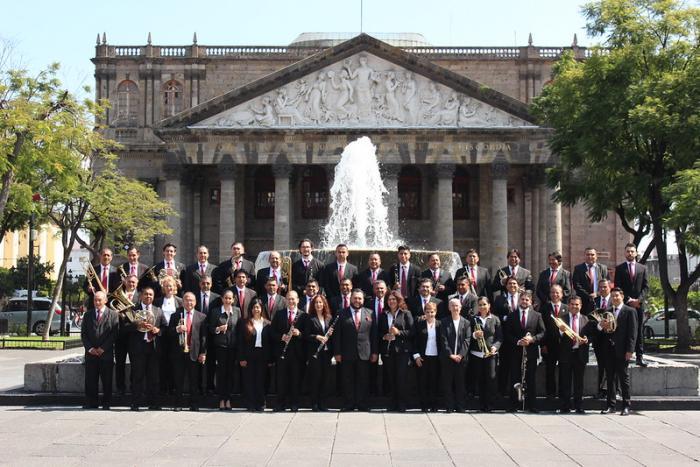 Celebra 130 años de vida la Banda de Música del Estado de Jalisco