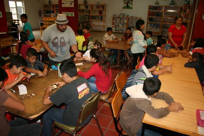 Actividades literarias en la Red Estatal de Bibliotecas del Estado