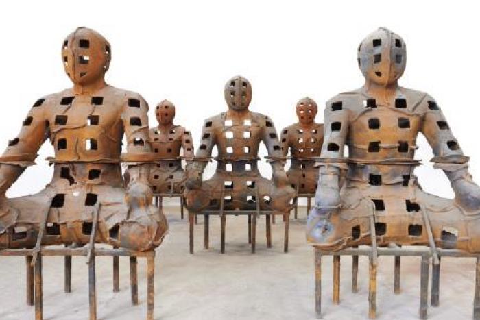 Exposición: Guerreros y guardianes (de Xavier Mascaró)