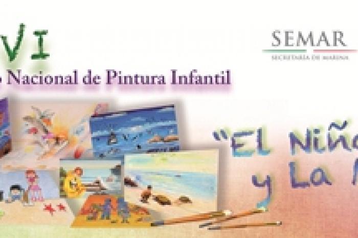 """La SEMAR convoca el concurso de pintura infantil """"El Niño y la Mar"""""""