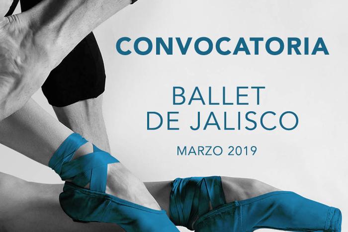 Convocatoria: Ballet de Jalisco