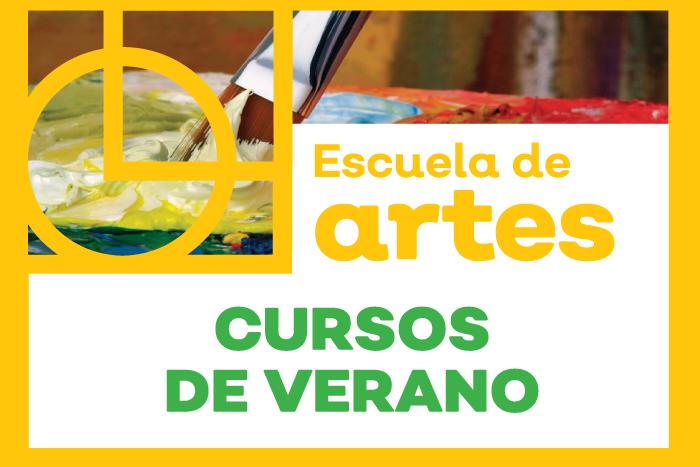 Escuela de Artes: Cursos de Verano 2019