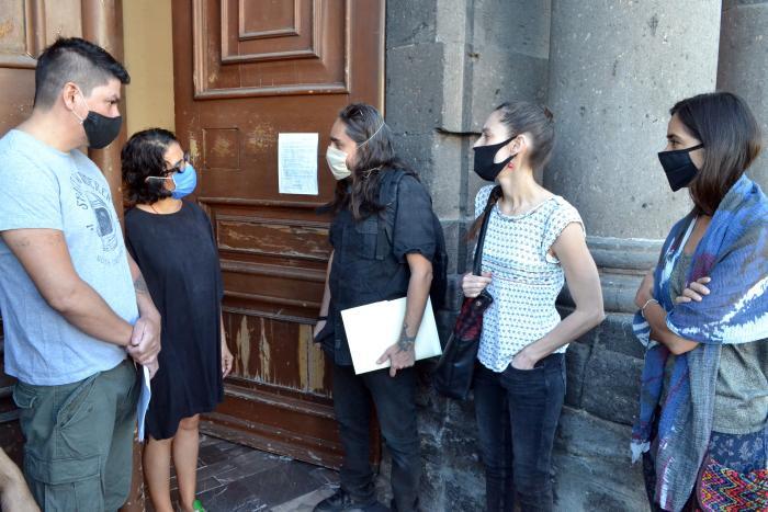 Recibe Cultura Jalisco petición de artistas y abre el diálogo