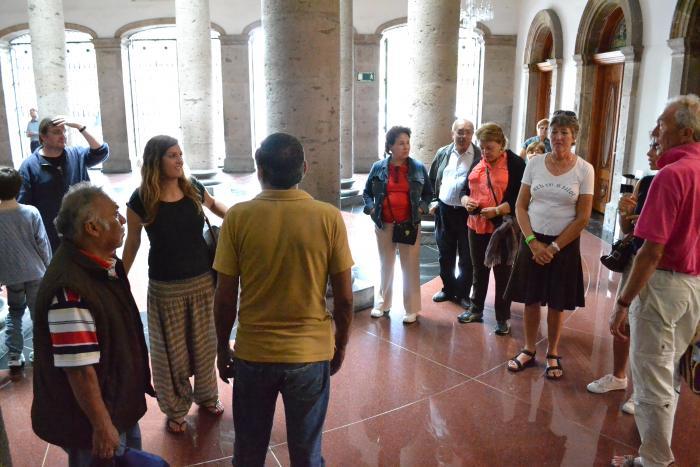 Ofrece visitas guiadas el Teatro Degollado