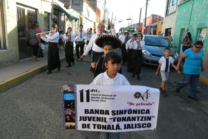 "11vo. Festival Nacional de Bandas Sinfónicas de Tonalá 2014 y el 2do. Festival Nacional de Orquestas Sinfónicas ""Gori Cortés"""