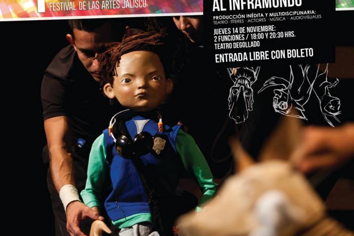 """Inauguran el FESTA con """"Emiliano y el Tren al Inframundo"""""""