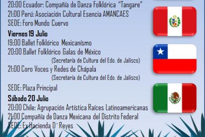 """Inician en Tequila las actividades del Festival """"Colores del Mundo"""""""