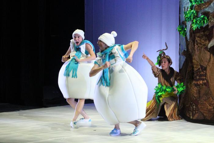 Jueves de danza: Danzas de agua. Danza teatro para niñas y niños