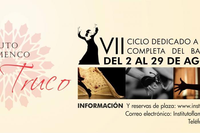 VII Ciclo dedicado a la formación completa del baile flamenco de 2015