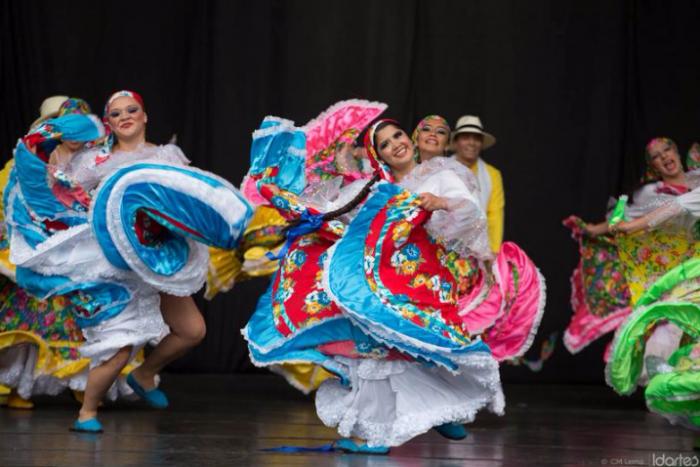 Gala del Folclor Colombia y México