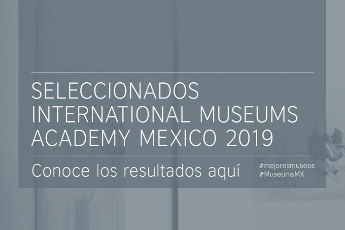 Resultados: Convocatoria International Museum Academy