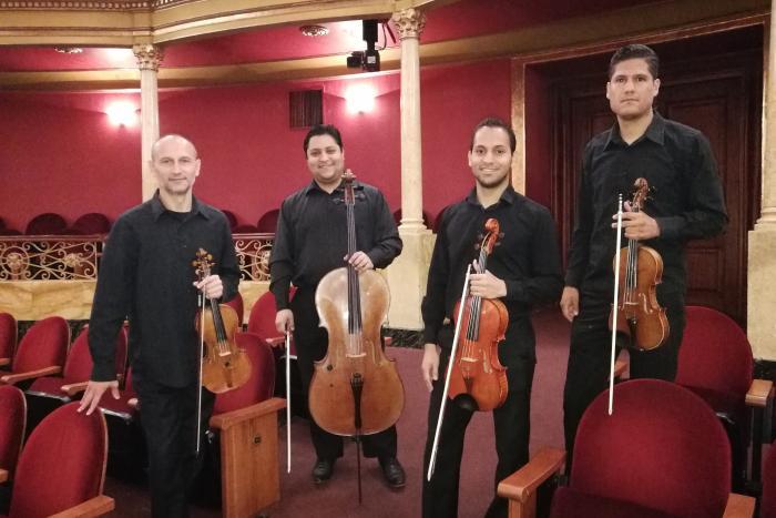 Concierto: Cuarteto de cuerdas