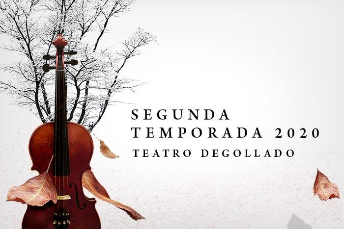 Segunda Temporada 2020 Orquesta Filarmónica de Jalisco